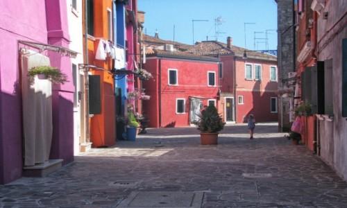 WłOCHY / veneto / Burano / mała podróż włoska