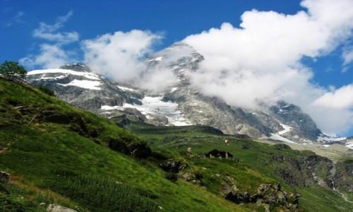 WłOCHY / Alpy / Matterhorn / Ciekawe czy Paweł tu już się wspinał?