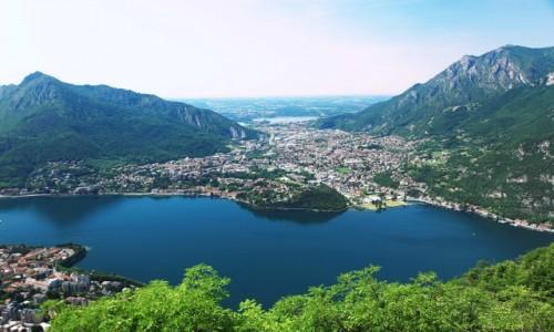 Zdjęcie WłOCHY / Lecco / Góra San Martino (1090 m) / Valmadrera