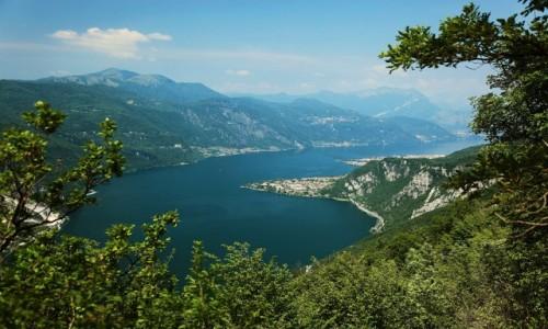 Zdjęcie WłOCHY / Lecco / Góra San Martino (1090 m) / Abbadia Lariana i Mandello del Lario