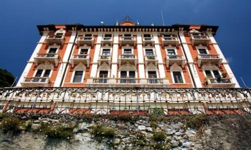 Zdjecie WłOCHY / Como / Brunate / Opuszczony budynek hotelu