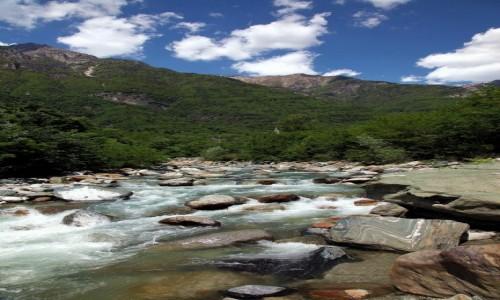 Zdjęcie WłOCHY / Lombardia / Chiavenna / Kamienie rzeki Mera