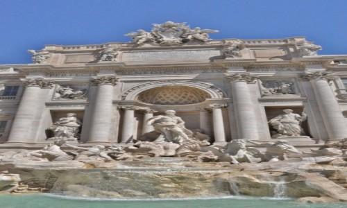 Zdjecie WłOCHY / Lazio / Rzym / Rzym, fontanna di Trevi