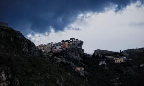 Zdjecie WłOCHY / Sycylia / Taormina / przed burzą
