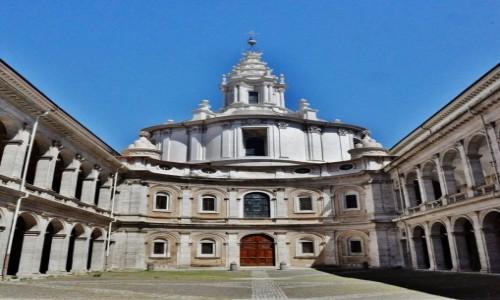 Zdjęcie WłOCHY / Lazio / Rzym / Rzym, dziedziniec archiwum