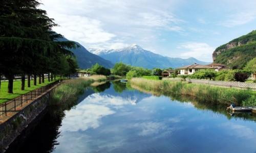 Zdjęcie WłOCHY / Lombardia / Novate Mezzola / Poranny spacer
