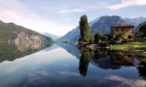 Zdjęcie WłOCHY / Lombardia / Novate Mezzola / Cisza