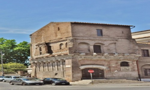 Zdjęcie WłOCHY / Lazio / Rzym / Rzym, kamienica o 2000 lat historii