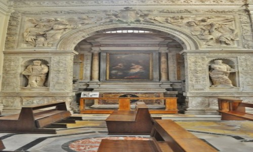 Zdjęcie WłOCHY / Lazio / Rzym / Rzym, renesansowa kaplica
