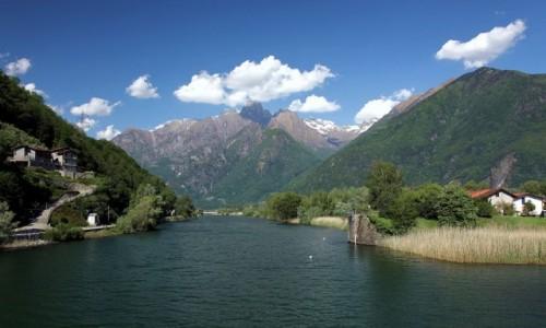 Zdjęcie WłOCHY / Lombardia / Ponte del Passo / Z mostu