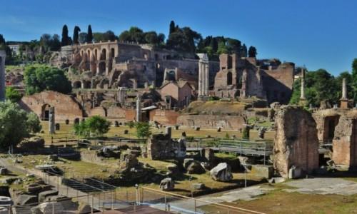 Zdjęcie WłOCHY / Lazio / Rzym / Rzym, Forum Romanum i Pallatyn