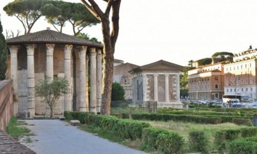 Zdjęcie WłOCHY / Lazio / Rzym / Rzym, niedaleko ust prawdy