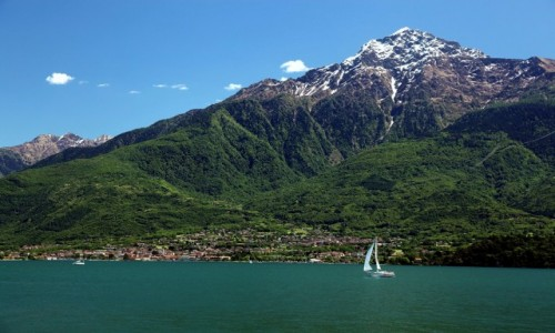Zdjęcie WłOCHY / Lombardia / Jezioro Como / Monte Legnone (2609 m n.p.m.)