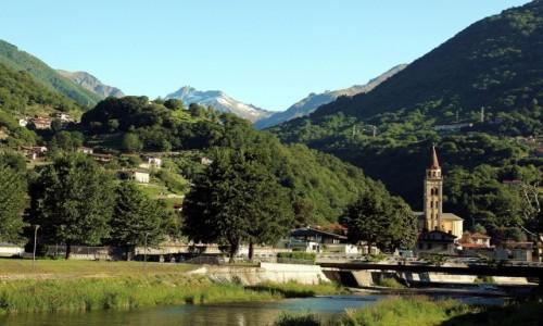 Zdjęcie WłOCHY / Lombardia / Jezioro Como / Domaso