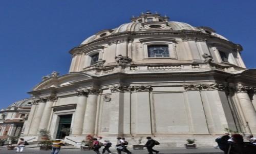 Zdjęcie WłOCHY / Lazio / Rzym / Rzym, kościół na Piazza Venezia