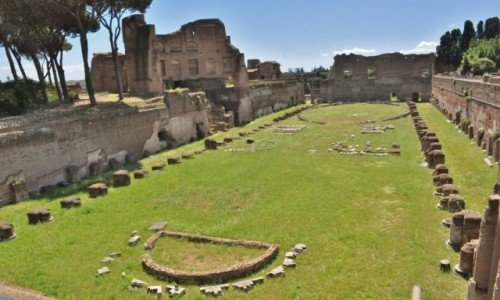 Zdjęcie WłOCHY / Lazio / Rzym / Rzym, Pallatyn