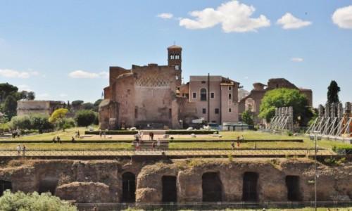 Zdjęcie WłOCHY / Lazio / Rzym / Rzym, Forum Romanum