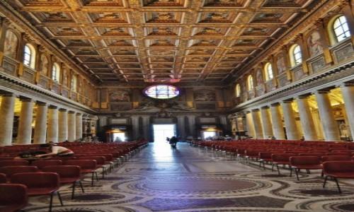 WłOCHY / Lazio / Rzym / Rzym Bazylika Santa Maria Maggiore