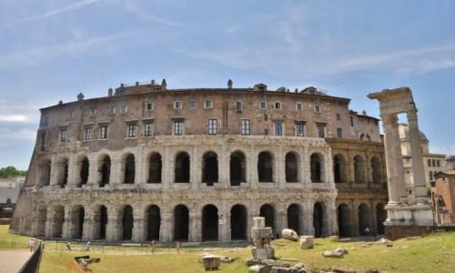 Zdjęcie WłOCHY / Lazio / Rzym / Rzym,  Dawny amfiteatr