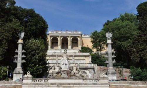 Zdjecie WłOCHY / Lazio / Rzym / Rzym, ogrody Medyceuszy