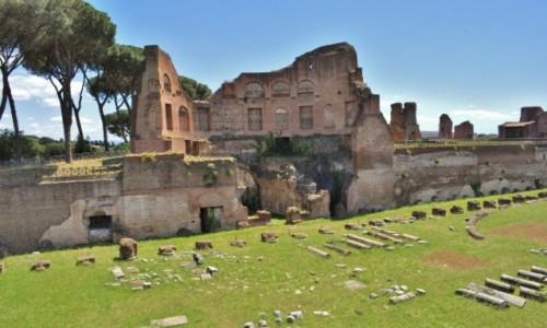 WłOCHY / Lazio / Rzym / Rzym, Pallatynat
