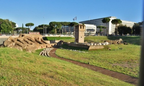 WłOCHY / Lazio / Rzym / Rzym, Circus Maximus