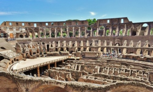 Zdjęcie WłOCHY / Lazio / Rzym / Rzym, Koloseum