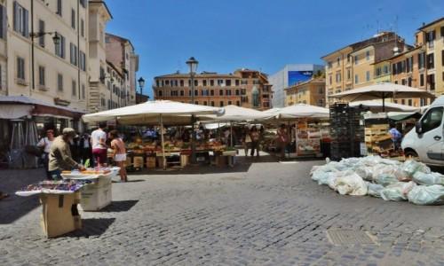 WłOCHY / Lazio / Rzym / Rzym, Piazza Campo di Fiori
