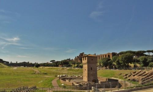 Zdjecie WłOCHY / Lazio / Rzym / Rzym, Circus Maximus