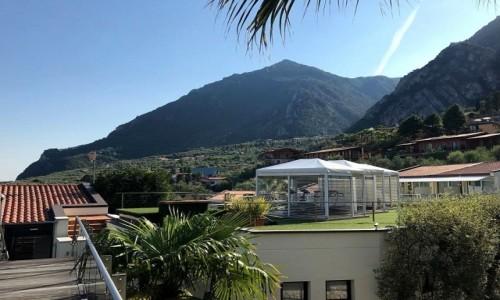 Zdjęcie WłOCHY / Limone Sul Garda / Nad Jeziorem Garda / Widok na góry