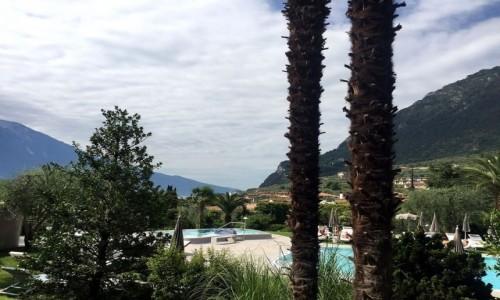 Zdjęcie WłOCHY / Limone Sul Garda / Nad Jeziorem Garda / Widok z tarasu