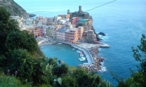 Zdjęcie WłOCHY / Liguria / Vernazza / Cinque terre
