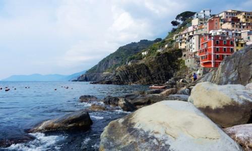 Zdjęcie WłOCHY / Liguria / Riomaggiore / Cinque terre