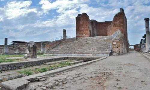 Zdjęcie WłOCHY / Lazio / Rzym / Ostia, antyk, portowe miasto w całości