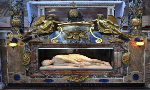 Zdjecie WłOCHY / Lazio / Rzym / Zatybrze, bazylika św. Cecylii