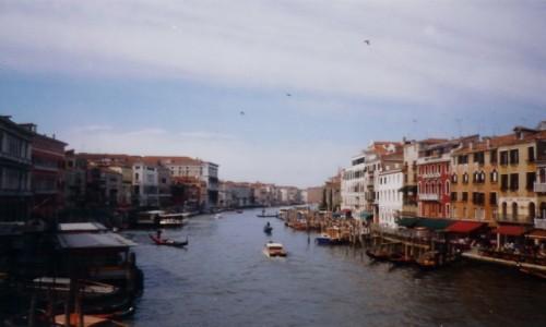 Zdjęcie WłOCHY / - / Canal Grande w Wenecji / Canal Grande w Wenecji