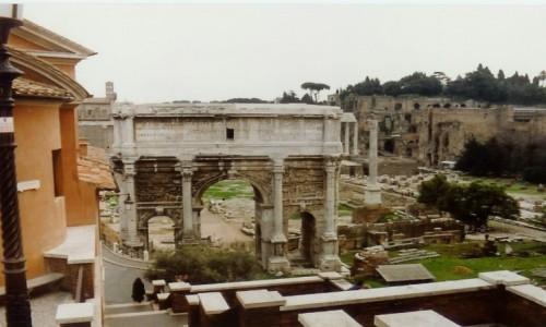 Zdjęcie WłOCHY / - / Forum Romanum w Rzymie / Forum Romanum w Rzymie