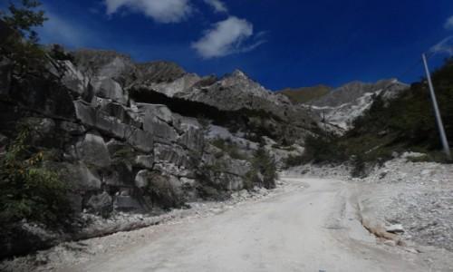 Zdjecie WłOCHY / Toskania / Carrara / Marmurowe królestwo