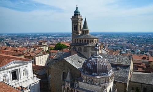 WłOCHY / Lombardia / Bergamo/Citta Alta / Bazylika di Sta Maria Maggiore