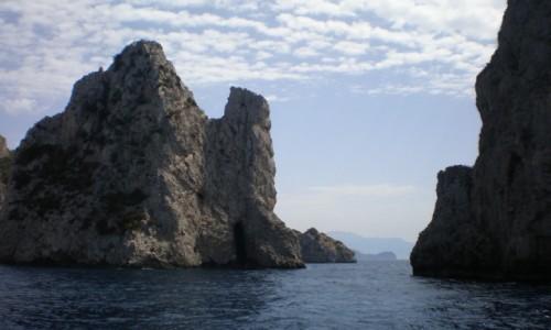 Zdjęcie WłOCHY / włochy / CAPRI / rejs wokół Capri