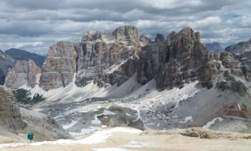 Zdjecie WłOCHY / - / Fanis z wierzchołka Lagazuoi (2838 m n.p.m.) / Dolomity