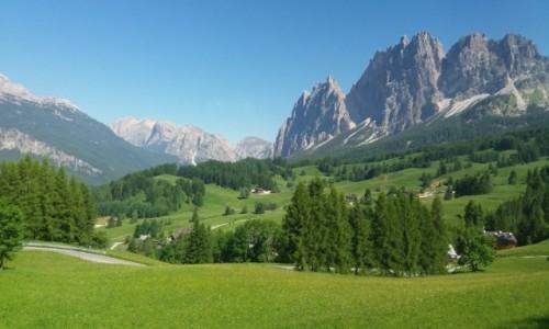 Zdjecie WłOCHY / - / Pomagagnon nad Cortiną d'Ampezzo / Dolomity