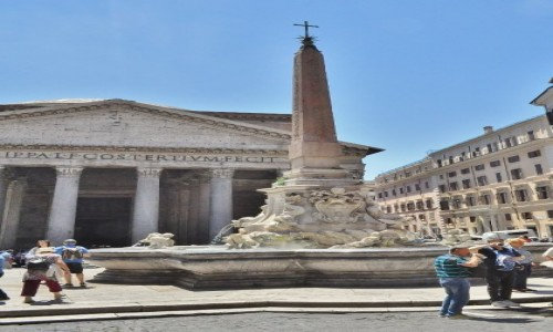 Zdjęcie WłOCHY / Lazio / Rzym / Rzym, okolice Panteonu
