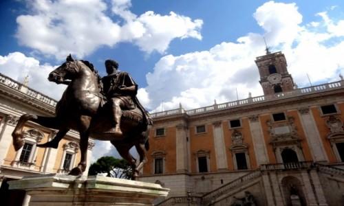 Zdjęcie WłOCHY / Lacjum / Rzym / Marek Aureliusz