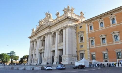 Zdjęcie WłOCHY / Lazio / Rzym / Rzym, bazylika św. Jana na Lateranie