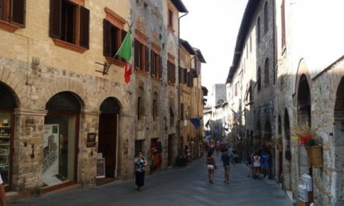 Zdjecie WłOCHY / Toskania / San Gimignano / Toskania