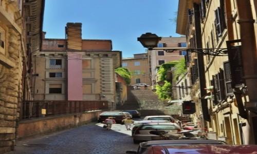 Zdjęcie WłOCHY / Lazio / Rzym / Zatybrze,zakamarki