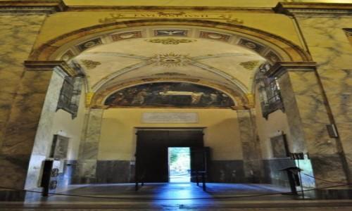 Zdjęcie WłOCHY / Lazio / Rzym / Rzym, kościół męczeństwa św. Pawła