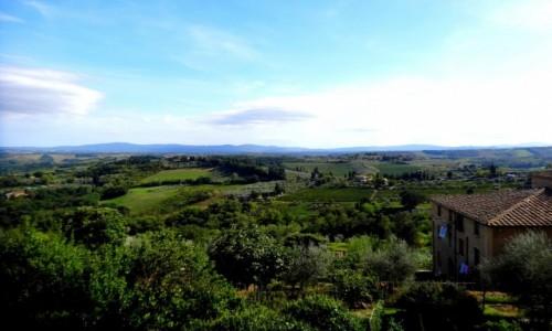 WłOCHY / Toskania / Val d'Orcia / Toskańskie krajobrazy