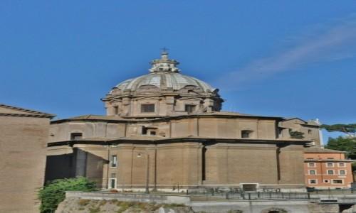 Zdjecie WłOCHY / Lazio / Rzym / Rzym, jedenz kościołów